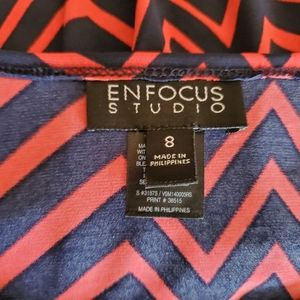 "Enfocus Studio Dresses - ""Enfocus Studio"" A~Line Midi Dress"
